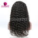 180% density Top Quality Virgin Human Hair Deep Wave Full Lace Wigs