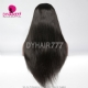 1B# Top Quality Virgin Human Hair Straight Hair Lace Frontal Wigs