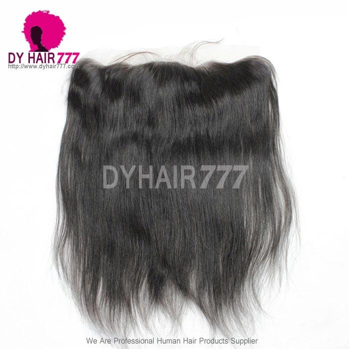 Silk Base Frontal (13*4) Straight Hair Virgin Human Hair Top Closure