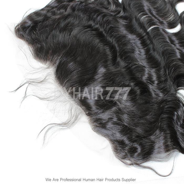 Silk Base Frontal (13*4) Body Wave Virgin Human Hair Top Closure