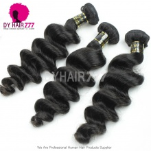 3 or 4 pcs/lot Bundle Deals European Royal Virgin Hair Loose Wave Remy Hair Extensions