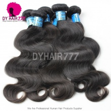 3 or 4pcs/lot Virgin Hair Body Wave Grade 6A Royal Peruvian Hair Extensions