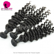 Unprocessed 1 Bundle Peruvian Standard Virgin Hair Deep Wave Human Hair Weave