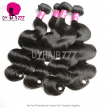 3 or 4 pcs/lot Unprocessed 6A Malaysian Royal Virgin Hair Extensions Body Wave