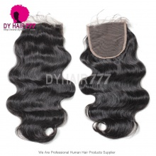 5* 5 Lace Top Closure Body Wave Virgin Human Hair