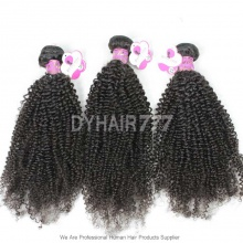100% Unprocessed Royal 3 or 4 Bundles Brazilian Virgin Kinky Curly Hair Weft