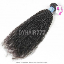 Royal 1 Bundle Peruvian Virgin Hair Kinky Curly Wave Human Hair Extension