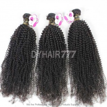 Virgin 3 or 4 Bundles Deal European Hair Royal Kinky Curly Wave Hair Extension
