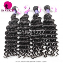 3 or 4pcs a lot Royal Cambodian Virgin Hair Deep Wave Human Hair Extension