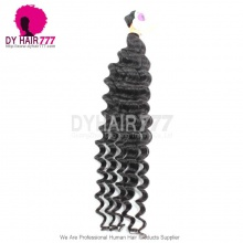1 Bundle Cheap Indian Standard Hair Weaving Deep Wave 100% Human Vigin Hair Extensions DY Hair Products