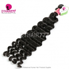 Wholesale 1 Bundle Cheap Malaysian Standard Hair Bundles Malaysian Virgin Hair Extensions Hot Deep Wave Hair