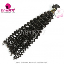 1 Bundle European Royal Virgin Hair Remy Hair Deep Curly Hair Extensions