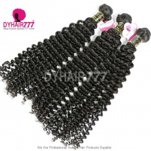 3 or 4 pcs/lot Bundle Deals Royal European Virgin Hair Deep Curly Hair Extensions