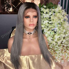 Lace Front Wig 130% Density Human Hair Customize Wig 7 Working Days Ready TBG5-L