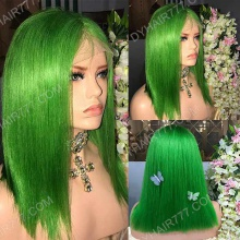 Full Lace Wig 150% Density Human Hair Customize Wig 7 Working Days Ready GBST8-F