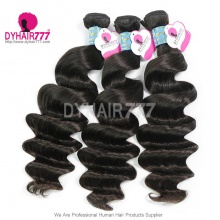3 or 4pcs/lot Royal 6A Peruvian Virgin Hair Loose Wave 100% Human Hair extension
