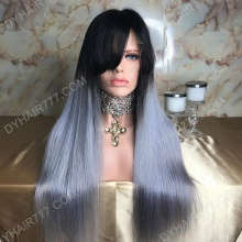 Lace Front Wig 150% Density Human Hair Customize Wig 7 Working Days Ready LHST44-L