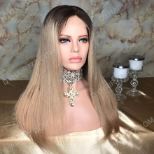 Lace Front Wig 150% Density Human Hair Customize Wig 7 Working Days Ready ZSZF50-L