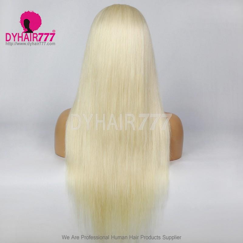 Closure Wig 180% Density Color 60 Lace Wig Straight Hair 100% Virgin Human Hair