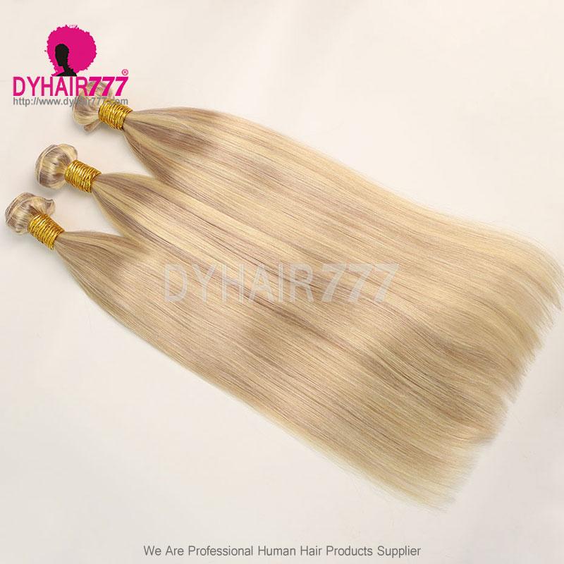 1 Bundles P18/24 Straight Brazilian Hair 100% Virgin Human Hair