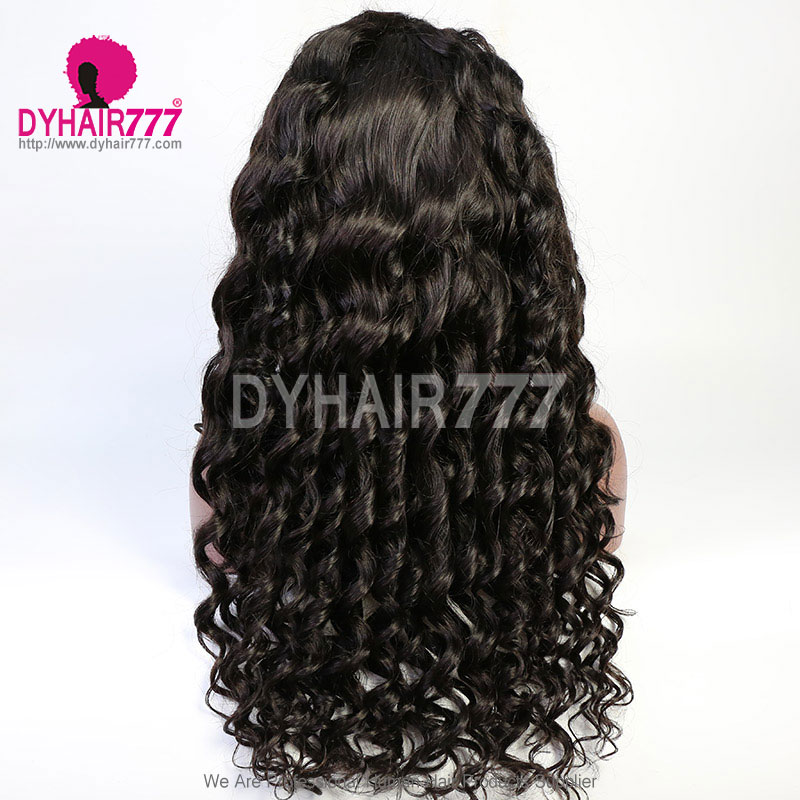 13*4 Frontal Sew-in Wigs 180% Lace Wig 100% Virgin Human Hair Unprocessed Hair Wigs