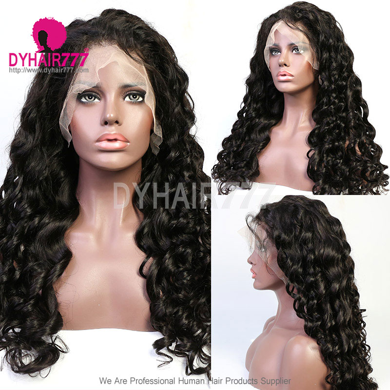 Sew in Pre Plucked Closure Wigs 4x4 Lace Closure Wig 100% Virgin Human Hair Unprocessed Hair