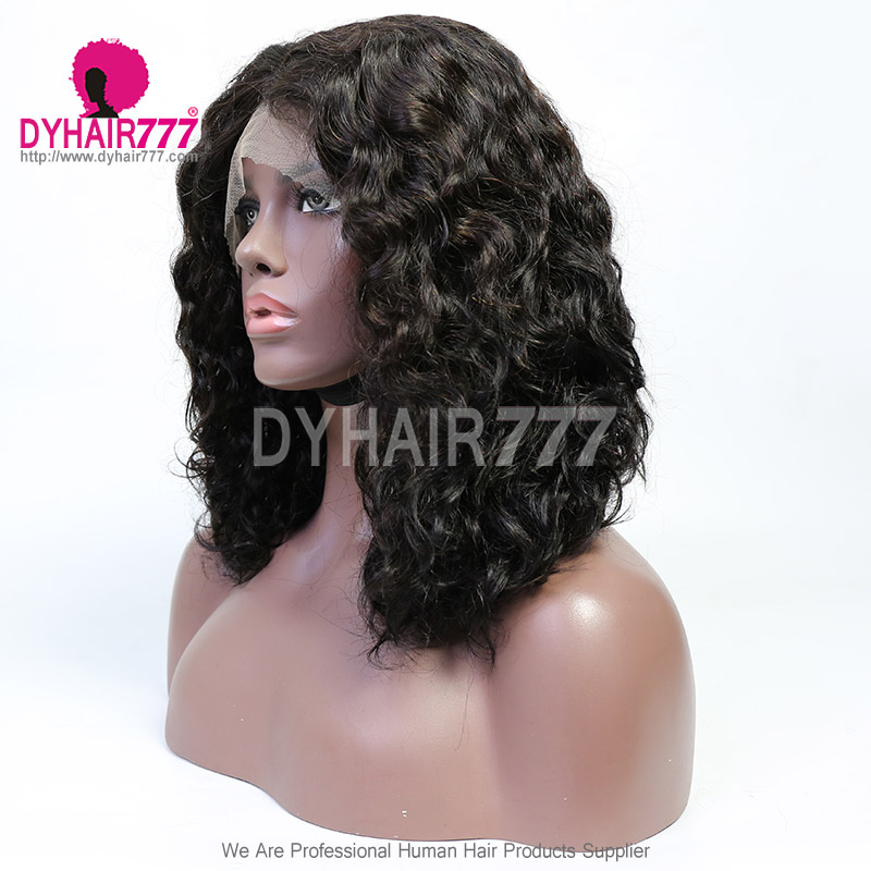 Middle Part Lace Wig T Part XY-08 Lace Part Wig 13*1 Remy Human Hair Wig
