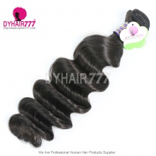 Peruvian Virgin Hair Loose Wave 1 Bundle Cheap Peruvian Standard Hair Human Hair Extension Tangle Free