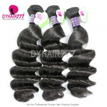 3 or 4 pcs/lot Bundle Deals Unprocessed Top Quality Cambodian Standard Virgin Hair Loose Wave Extensions