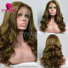 Full Lace Wig 130% Density Human Hair Customize Wig 5 Working Days Ready DFC02-F