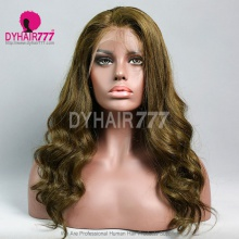 Lace Front Wig 130% Density Human Hair Customize Wig 5 Working Days Ready DFC02-L