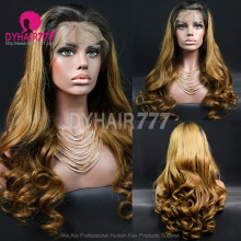 Full Lace Wig 180% Density Human Hair Customize Wig 7 Working Days Ready GDB13-F