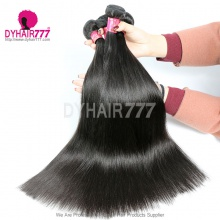 3 or 4 pcs/lot Straight Malaysian Royal Virgin Hair No Tangle No Shedding Top Quality