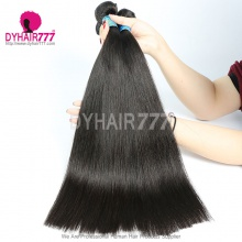 3 or 4pcs/lot Peruvian Royal Straight Virgin Hair 100% Unprocessed Human Hair Extensions