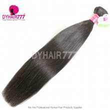 Malaysian Standard 1 Bundle Virgin Hair Extension Wholesale Straight Cheap Human Hair