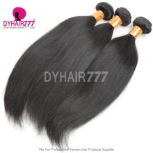3 or 4 pcs/lot Bundle Deals Cheap Remy Indian Standard Hair Straight Virgin Hair Extension