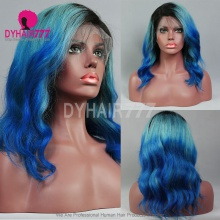 Full Lace Wig 180% Density Human Hair Customize Wig 10 Working Days Ready TBB16-F