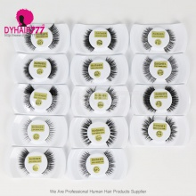 100% Mink Hair Makeup Black Eyelash (leave message for the style number,or by random)