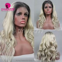Full Lace Wig 130% Density Human Hair Customize Wig 7 Working Days Ready TGG17-F