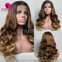 Full Lace Wig 130% Density Human Hair Customize Wig 5 Working Days Ready BZL15-F
