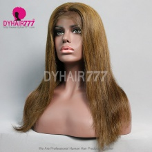 Lace Front Wig 130% Density Human Hair Customize Wig 5 Working Days Ready FZST21-L