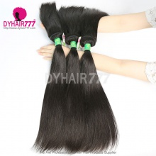 3 or 4 Bundle Deals Good Quality Braid in Bundles Straight Hair Brazilian Standard Virgin Hair Extensions