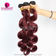 3 Bundles Two Tone Color 1b/99J Body Wave Hair 7 Business Days Ready