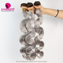 3 Bundles Two Tone Color 4/silver Body Wave Hair 7 Business Days Ready