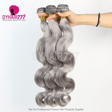 3 Bundles Color Hair Silver Ash Body Wave Hair 7 Business Days Ready