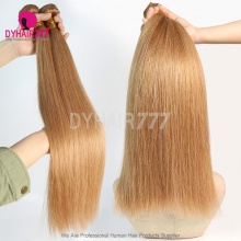 1 Bundles Color 10 Straight Hair Brazilian Hair 100% Virgin Human Hair
