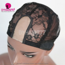 U Part Wig Cap With Straps Black Color 1PC