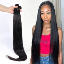3 or 4 Bundle Deals Good Quality Straight Hair Brazilian Standard Virgin Hair Extensions