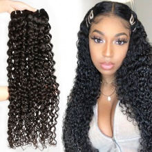 3 or 4 Bundles Standard Brazilian Virgin Hair Italian Curly Human Hair Extension