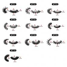 1 Pair 3D Mink Hair Eyelashes MT Series( 10 models can be selected)